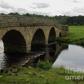 Pauperhaugh Bridge, Northumberland by Lesley Evered
