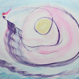 Peace Ship Sailing with the Sun by Asha Carolyn Young