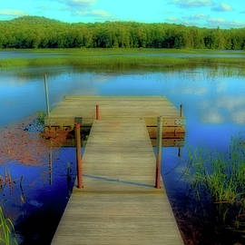 Peaceful Dock by David Patterson