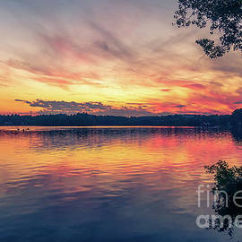 Peaceful evening by Claudia M Photography