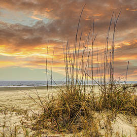 Peaceful Moments at Sunset by Debra and Dave Vanderlaan