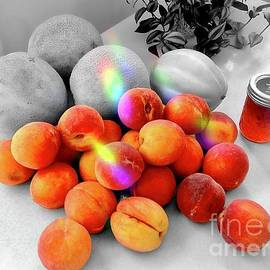Peach Glow - Selective Color by Virginia Artho