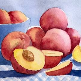 Peach Pie Prep by Nicole Curreri