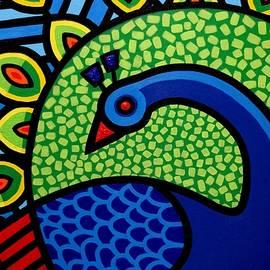 Peacock IX  by John  Nolan