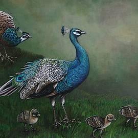 Peacocks by Pam Kaur