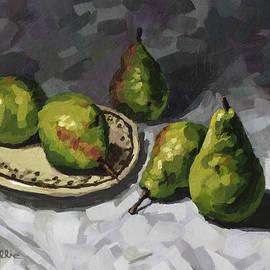 Pears by John Wallie
