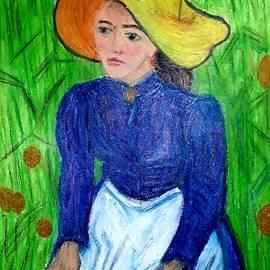 Peasant Woman  by Tanuja Rangarao