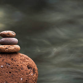 Pebble Tower by Martin Vorel Minimalist Photography