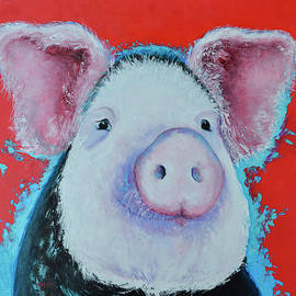 Pedro Pig by Jan Matson