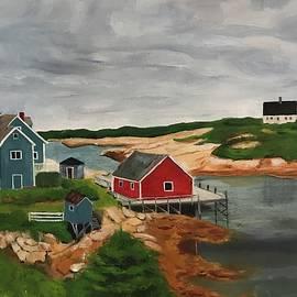 Peggys Cove by Daniel Kilgore