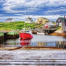 Peggy's Cove in perspective by Tatiana Travelways