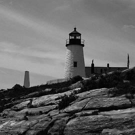 Pemaquid Point Lighthouse 4 by Lorraine Palumbo