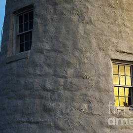 Pemaquid Point Lighthouse Detail- Color Version by Diane Diederich