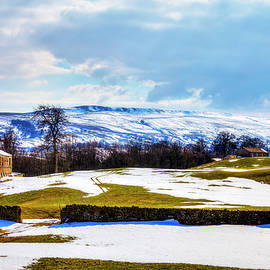 Penhill Yorkshire Dales Winter Snow   by Paul Thompson