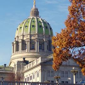 Pennsylvania State Capitol Rotunda by Joseph Skompski