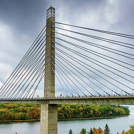 Penobscot Narrows Bridge by Alexey Stiop