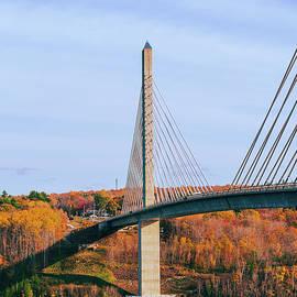 Penobscot Narrows Bridge, Maine by Satty Singh
