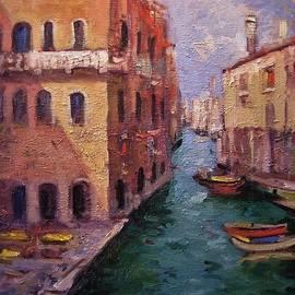 Pensione Seguso Venice Italy by R W Goetting