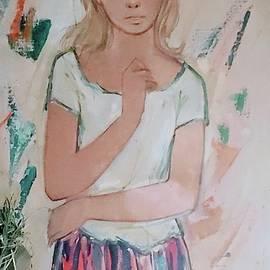 Pensive muse by Brandee Kinneyhurd