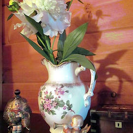 Peonies Flowers And Company by Patricia Keller