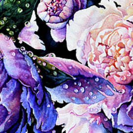 Peony Pearls And Curls by Hanne Lore Koehler