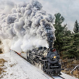 Pere Marquette 1225 by Pat Eisenberger