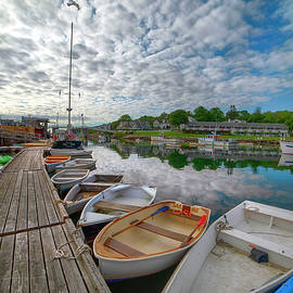 Perkins Cove - Ogunquit, Maine by Joann Vitali