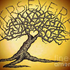 Persevere Love Tree by Aaron Bombalicki