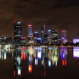 Perth Skyline by Jan Fijolek