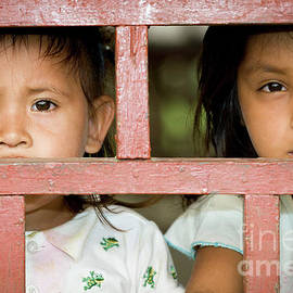 Peruvian Caboclos children by Tony Camacho