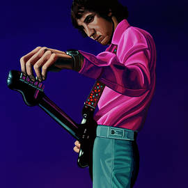 Pete Townshend Painting by Paul Meijering