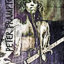 Peter Frampton by Absinthe Art By Michelle LeAnn Scott