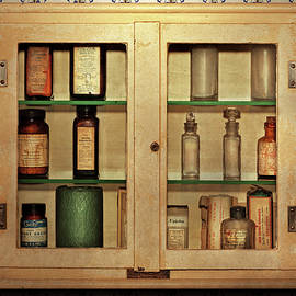 Pharmacy - In the medicine cabinet by Mike Savad