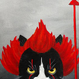 Phoebe The Cat.. Trick or Treat by Danett Britt