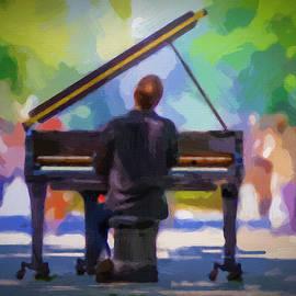 Piano Man - DWP1447712 by Dean Wittle