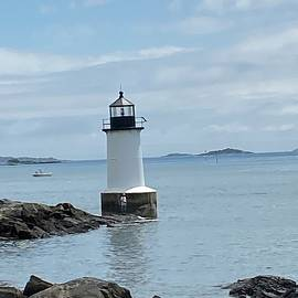 Pickering lighthouse  by Ronni Dewey