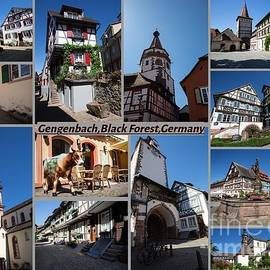 Picturesque Gengenbach by Eva Lechner
