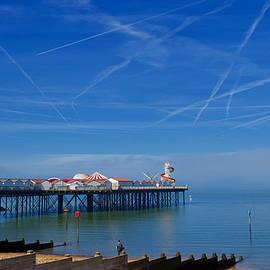 Pier, Herne Bay, England by Joe Vella