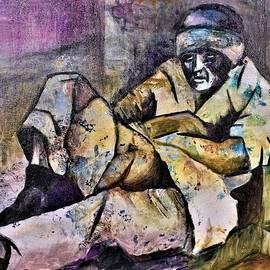 'Pieta' for the Homeless by Francesca Schomberg