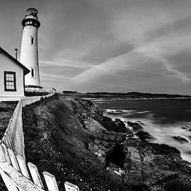 Pigeon Point BW by Morgan Wright