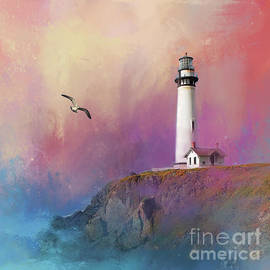 Pigeon Point Lighthouse by Kathy Kelly