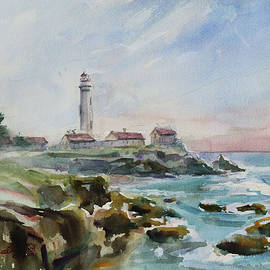 Pigeon Point Lighthouse Pescadero California by Xueling Zou