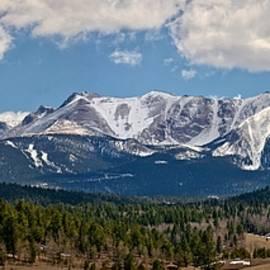 Pike's Peak Panorama by Joe Bonita