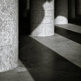 Pillars and Shadow by Dave Bowman