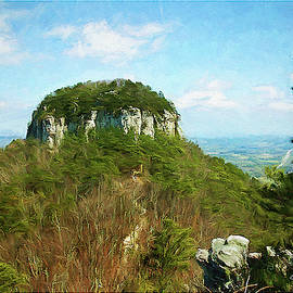 Pilot Mountain by George Moore