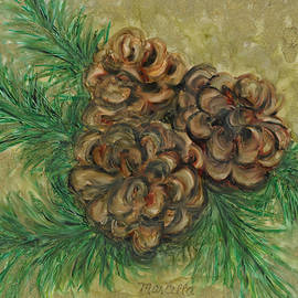 Pine and Cones by Marcella Chapman