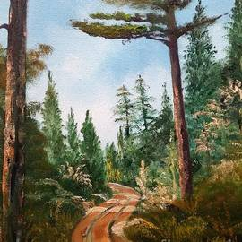 Pine Forest by Lee Piper
