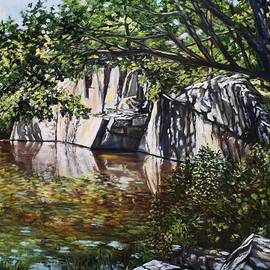 Pine Pit, Rockport, MA by Eileen Patten Oliver