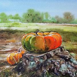 Pine Stump Pumpkin by Yuson Yi