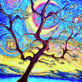 Pine Tree by Viktor Lazarev